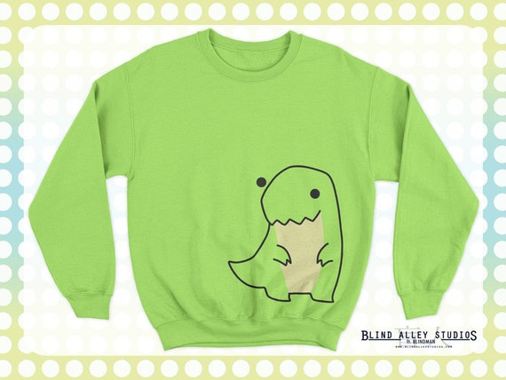 Big Dino Sweater (Green) [SPECIAL ORDER]