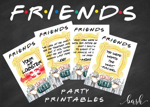 Friends Tv Show Etsy