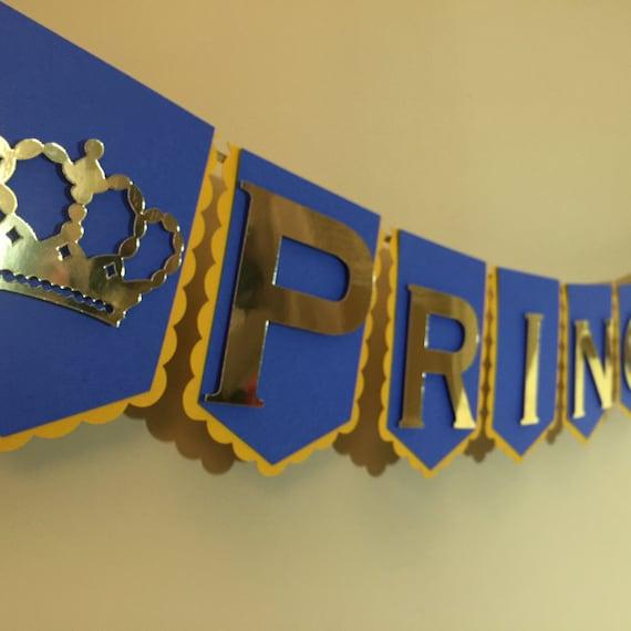 Crown Banner, Princess/prince Theme Party