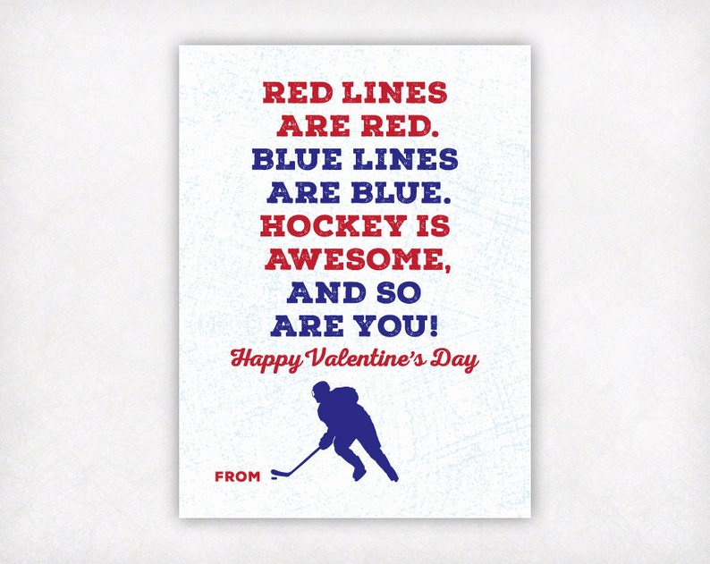 graphic about Printable Kid Valentine Cards known as PRINTABLE Youngsters Valentine Card, Hockey Valentines Working day Playing cards, Tween Boys Valentine Playing cards, Sporting activities College Clroom Valentines Immediate Obtain
