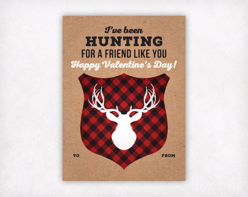 picture relating to Printable Kid Valentine Cards referred to as PRINTABLE Children Valentine Card, Looking Valentines Working day Playing cards, Boys Valentine Playing cards, Deer Antlers College Clroom Valentine Immediate Obtain
