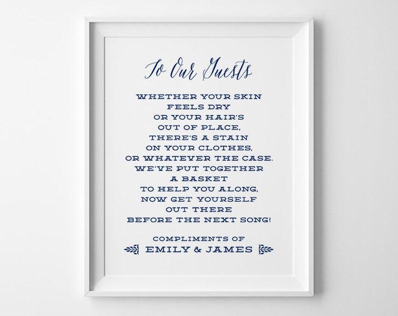 f72970514f02df Nautical Wedding Signs Bathroom Wedding Sign Bathroom Basket