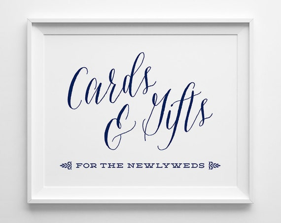 b0f64fd5043993 Nautical Wedding Signs Wedding Cards and Gifts Sign Gift