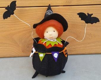 PDF pattern - Witches' cauldron