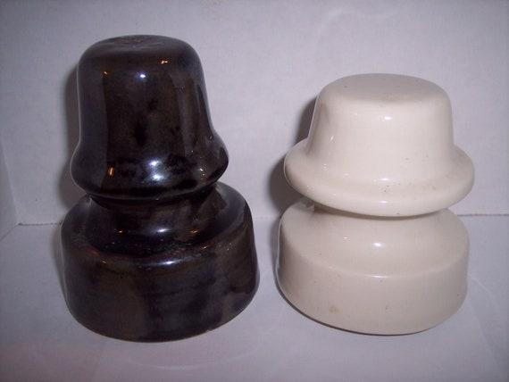 K-57 Two U-172s Porcelain Insulators