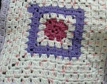 Granny Square Security Blanket
