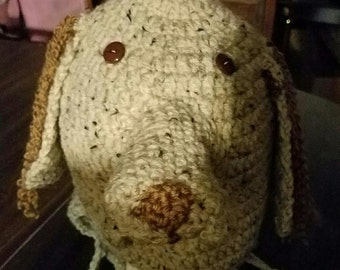 English Setter earflap hat