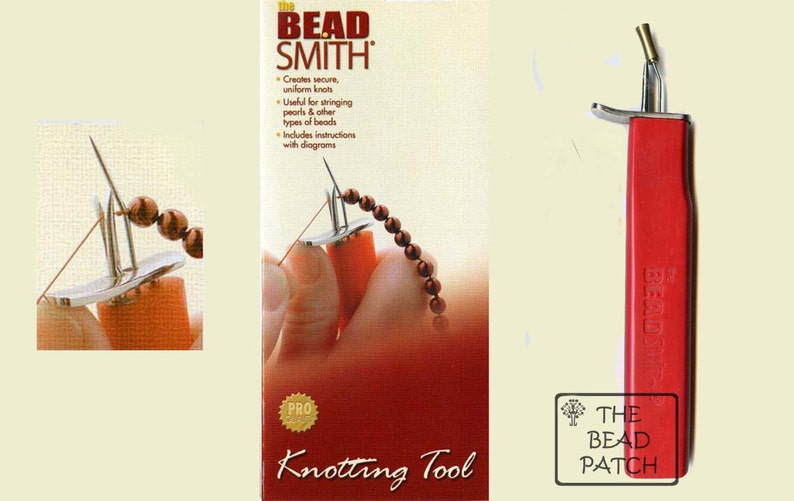 BEADSMITH Beading Awl For consistent and tight knots Stringing Beads Pearls