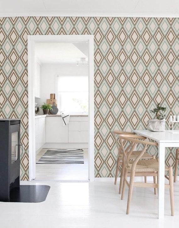 Marokko Wallpaper marokkanische Wallpaper Diamant Wallpaper | Etsy