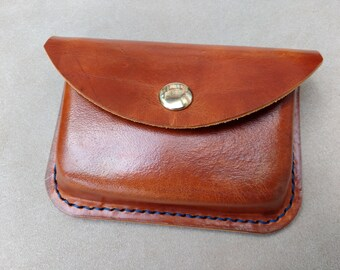 Handmade Leather Possible Pouch - Slimline
