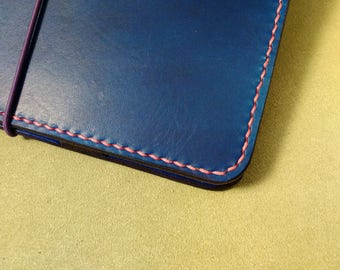 Hand-stitching add-on for Meadowgate Leather Notebook Covers