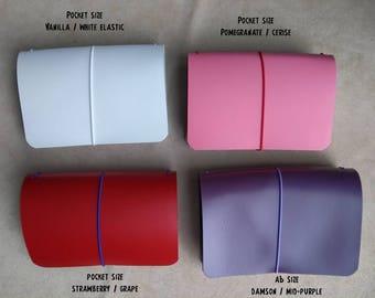 ORCHARD Traveller's Journal range. Midori, Field Notes, Moleskine, Rhodia, Stamford. Passport/Pocket/A6/B6/A5. Choose many custom options.