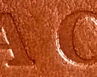 Letter stamping Initials on Meadowgate Leather Products