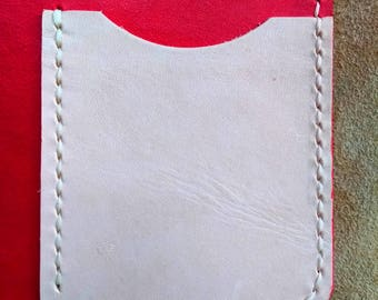 Add a Single Card Pocket to an Acorn or Catkin Traveller's Notebook Cover