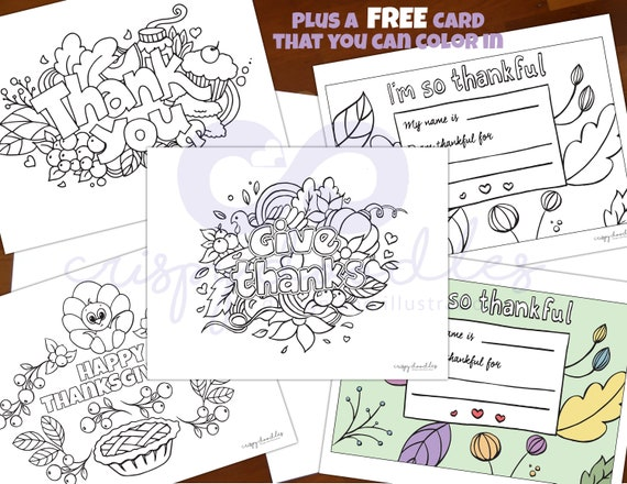 Printable Thanksgiving Coloring Pages Kids Coloring Pages