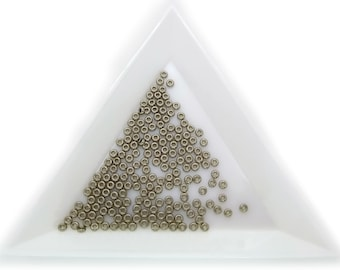Toho Demi Round Size 11 Nickel Plated 711 Glass Beads- 1 Gram