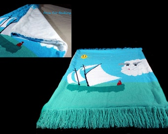 Crochet Blanket, Crochet Afghan, Luxury Faux Fur Lined, Winter Blanket, Couch Throw, TV Blanket, One of a Kind, Original Design, Handmade