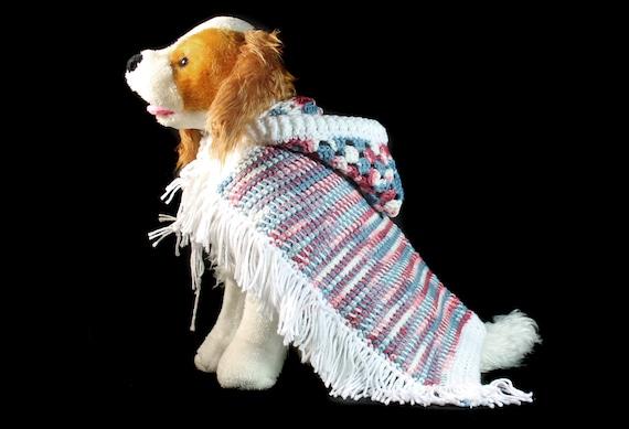Pet Sweater, Pet Hoodie, Pet Jacket, Cat Clothing, Dog Clothing, Pet Poncho for Cat, Dog, or Other Pet, Original Design