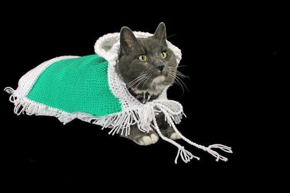 Pet Sweater, Pet Hoodie,  Pet Jacket, Pet Poncho for Cat, Dog, or Other,  Original Design