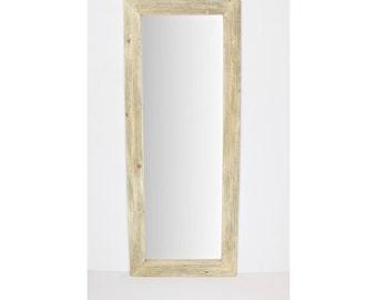 Large Red Floor Mirror/ Leaning Mirror/ Bathroom Mirror/