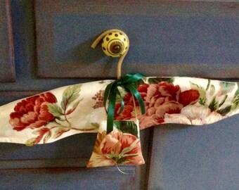 Coat Hanger - French Style Coathanger - Floral Fabric Coat Hanger - Mother's Day Gift - Wardrobe Accessory - Australian Seller