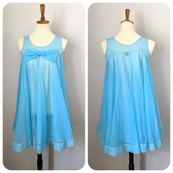 Vintage Nightgown, Babydoll Nightgown, Nightgown,