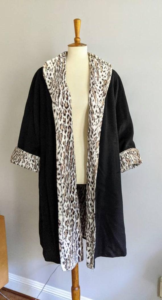 Vintage Swing Jacket, Leopard Print Jacket, Leopa… - image 3