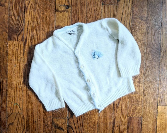 Vintage Horse Sweater, Child Sweater, Vintage Swea