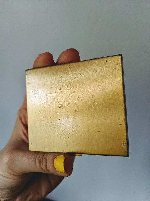 Vintage Mother of Pearl Compact, Mother of Pearl … - image 5