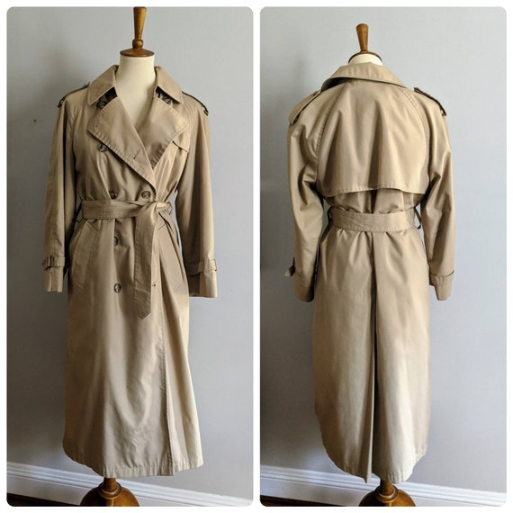 Vintage Trench Coat, London Fog, Trench Coat, Line