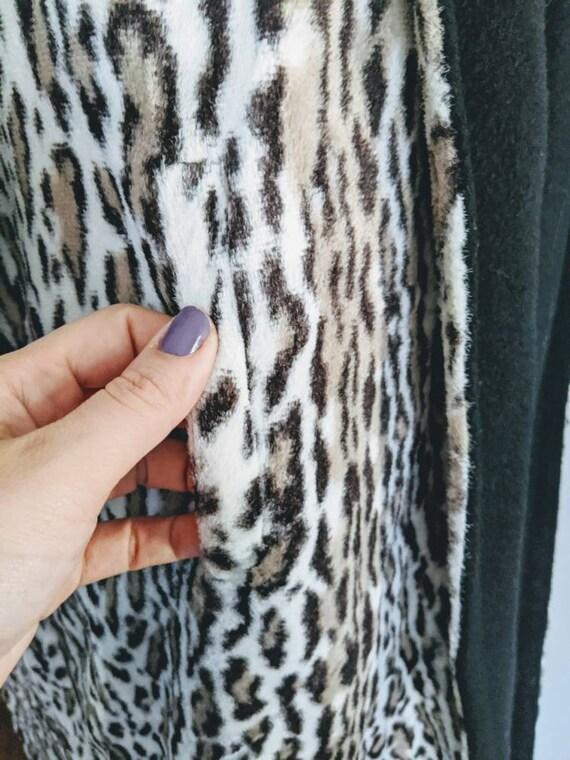 Vintage Swing Jacket, Leopard Print Jacket, Leopa… - image 7