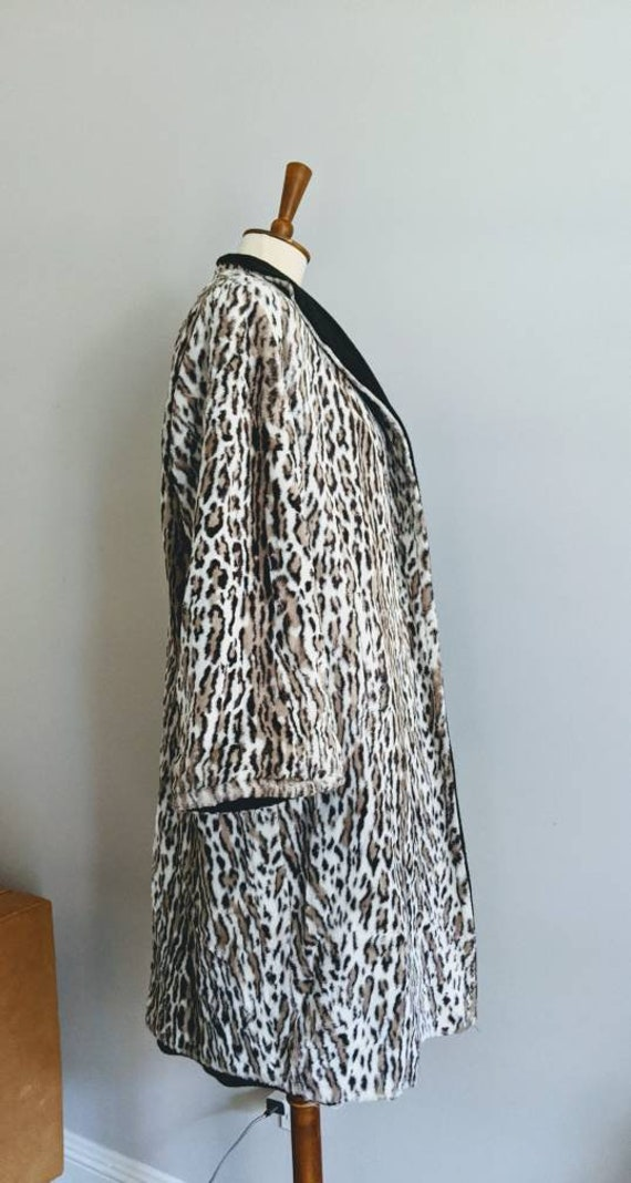 Vintage Swing Jacket, Leopard Print Jacket, Leopa… - image 9