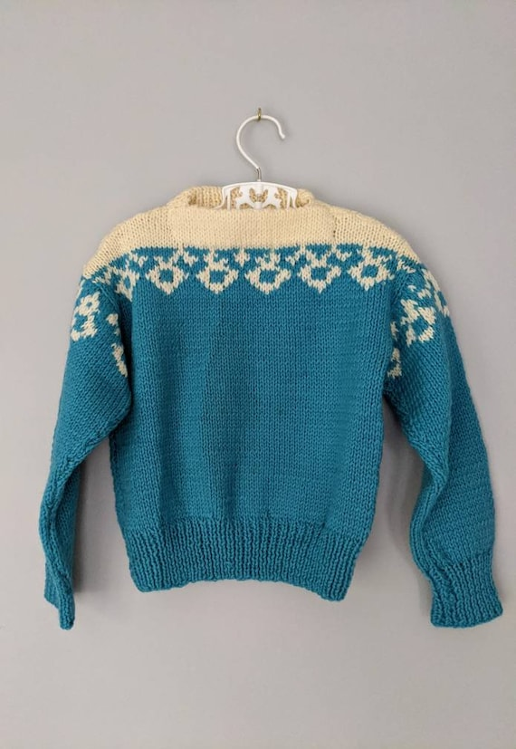 Vintage Sweater, Child Sweater, Unisex Sweater, Bl
