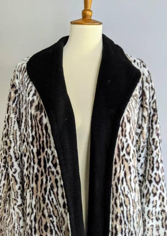 Vintage Swing Jacket, Leopard Print Jacket, Leopa… - image 8