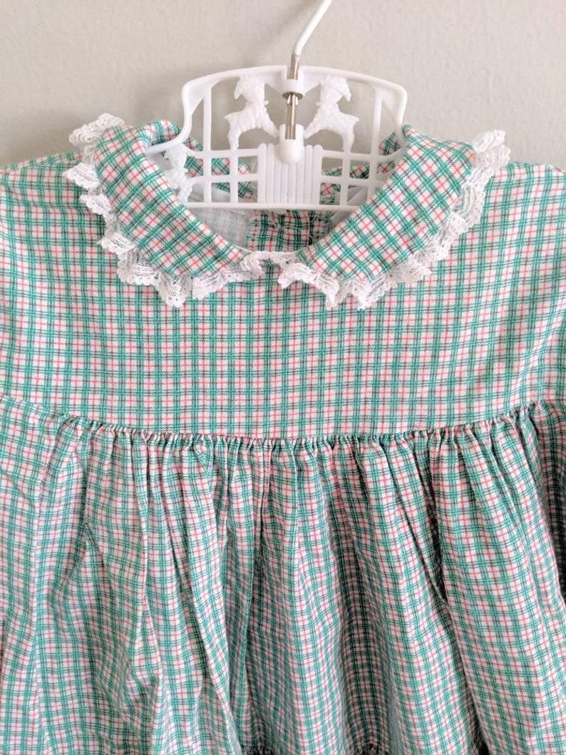 Ruffles Baby Bryan Dress Holiday Dress 12m Christmas Dress Fall Dress Vintage Baby Dress Vintage Bryan Dress Baby Girl Winter Dress