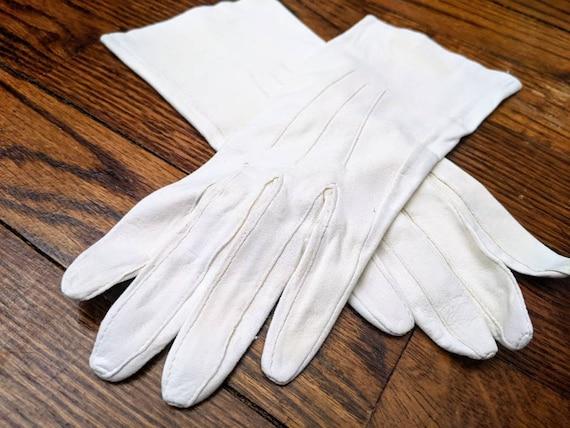 Vintage Gloves, Leather Gloves, Costume Gloves, La