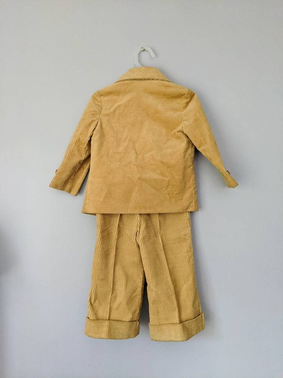 Vintage Boys Suit, 18-24 months, Christmas Outfit… - image 7