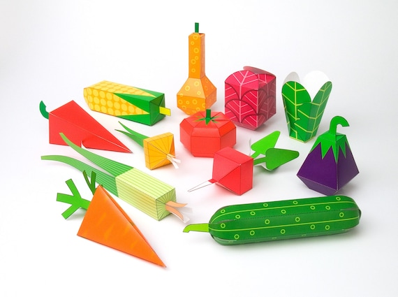 Luscious image in printable 3d paper crafts