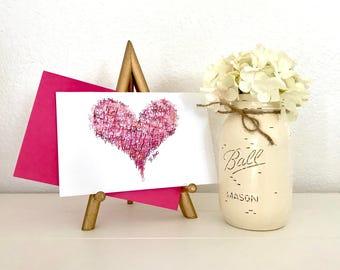 TE AMO Valentine's Day Card