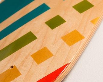 Pop Art Carver   Longboard Skateboard Deck