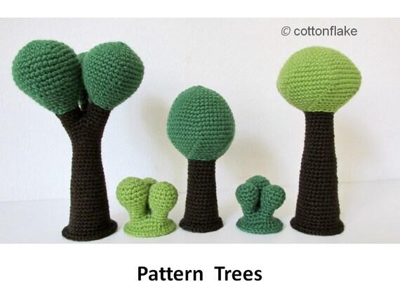 Muster-Bäume Amigurumi häkeln nahtlose amigurumi | Etsy