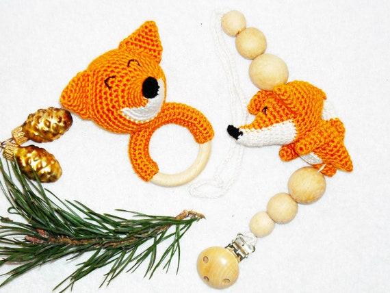 Amigurumi Fuchs Häkeln Spielzeug Geschenk Neugeborenen Häkeln Etsy