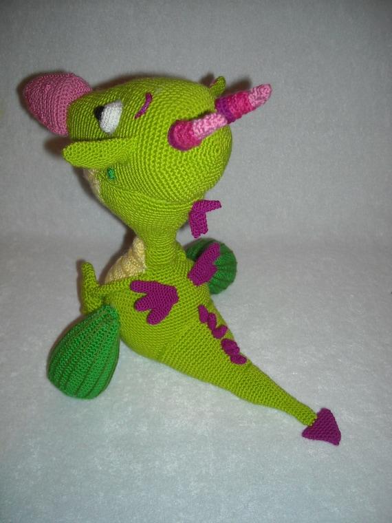 Dragon Draco from Baby TV channel Crochet draco, dragon Amigurumi