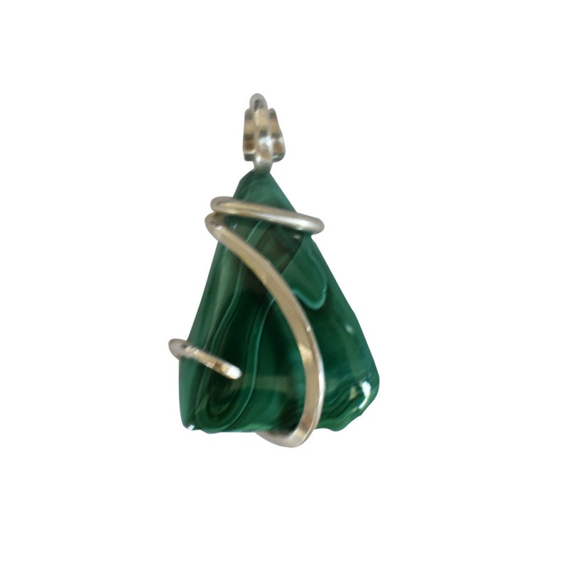 Danburite Crystal Wrapped Stone Pendant by Isabella Roth