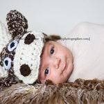 Newborn Baby Moose Hat Photography Prop | Baby Boy Baby Girl Photo Prop | Moose Themed Nursery