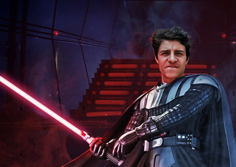 Custom Star Wars Portraits from your photos image 0