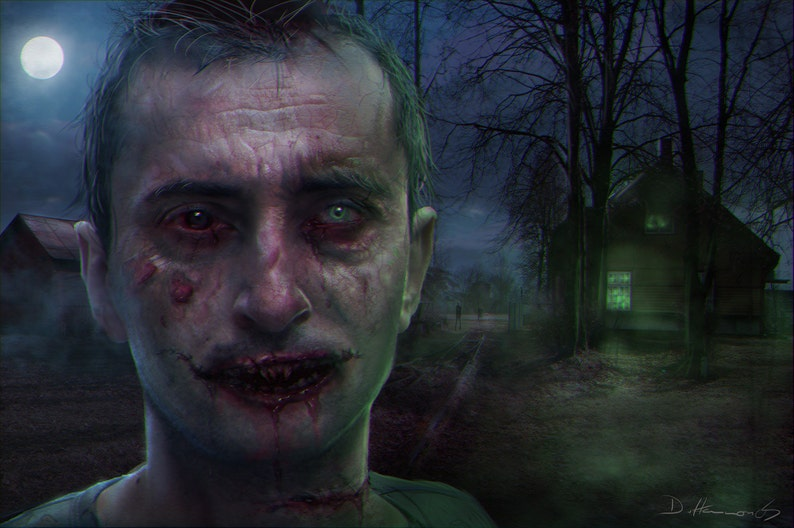 Zombie and Vampire Portraits from your photos image 0