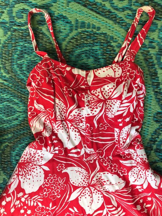 Vintage 1950s Hawaiian Dress - image 5