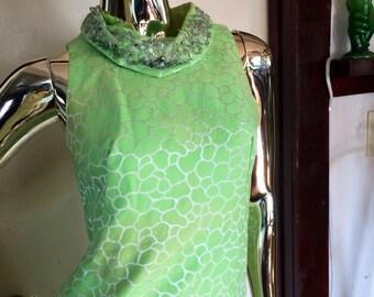 Vintage mod shift dress