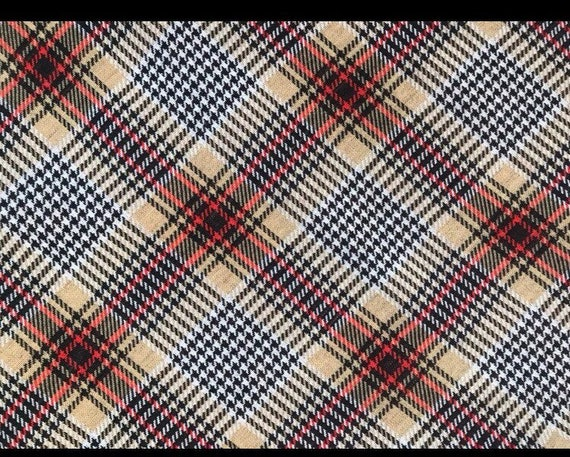 Vintage Maxi Plaid Skirt - image 3